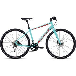 Specialized Vita Sport 2017, turquoise/red/black - Fitnessbike