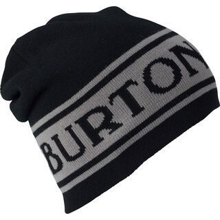 Burton Billboard Beanie, true black/iron gray - Mütze