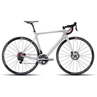 Ghost Nivolet X 9 LC 2017, white/grey/red - Rennrad