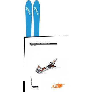 Set: DPS Skis Wailer 106 2017 + Marker Duke 16 (95106S)
