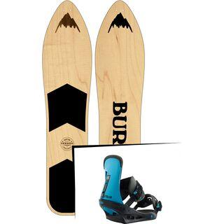 Set: Burton The Throwback 2019 + Burton Freestyle cobalt blue
