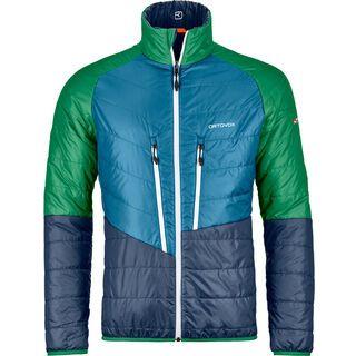 Ortovox Swisswool Light Piz Boval Jacket M, night blue blend - Thermojacke