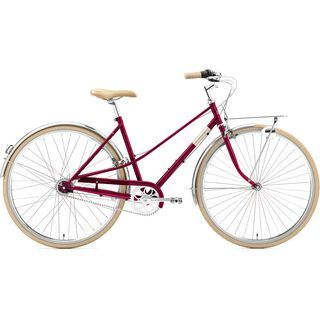 Creme Cycles Caferacer Lady Solo bordeaux 2021