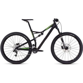 Specialized Camber FSR Comp 29 2016, black/green - Mountainbike