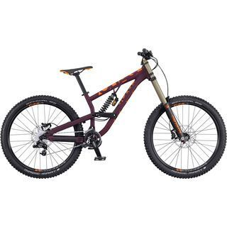 Scott Voltage FR 720 2016, bordeaux/orange - Mountainbike