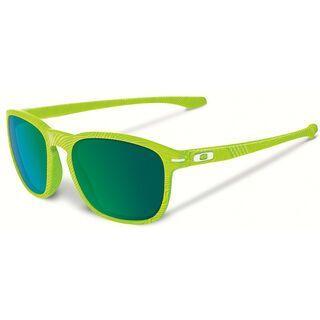 Oakley Enduro Fingerprint, retina burn/Lens: jade iridium - Sonnenbrille