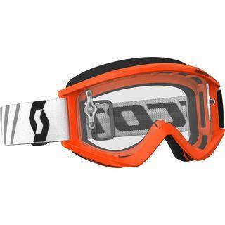 Scott Goggle Recoil Xi, orange/black/Lens: clear - MX Brille
