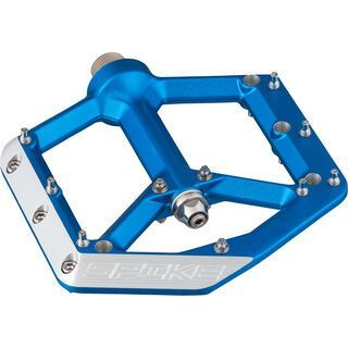Spank Spike Pedals, blue