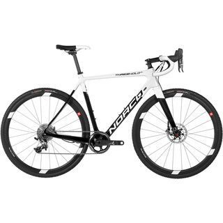 Norco Threshold SL Force 1 2017, white/carbon - Crossrad