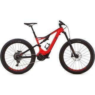 Specialized *** 2. Wahl *** Turbo Levo FSR Expert Carbon 6Fattie 2018 | Größe L // 46,8 cm, red/carbon - E-Bike