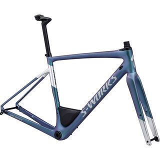 Specialized S-Works Diverge Frameset 2018, satin gloss oil/silver