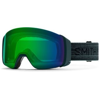 Smith 4D Mag inkl. WS, deep forest/Lens: cp everyday green mir - Skibrille