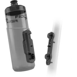 Fidlock Twist Bottle 600 + Bike Base transparent black