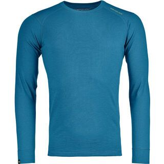 Ortovox 145 Merino Ultra Long Sleeve M, blue sea - Unterhemd