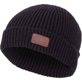 Mons Royale Fishermans Beanie, black - Mütze