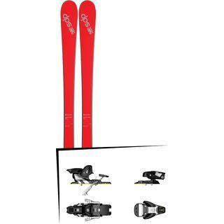 Set: DPS Skis Cassiar 80 SL 2017 + Salomon STH2 WTR 13 (1540109)