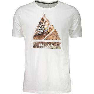 Maloja TschuggM., cream - T-Shirt