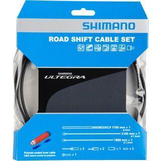 Shimano Schaltzug-Set Ultegra Polymer beschichtet, schwarz