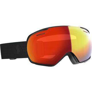 Scott Linx, black /Lens: enhancer red chrome - Skibrille