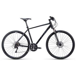 Cube Cross 2015, black anodized anthrazit white - Fitnessbike
