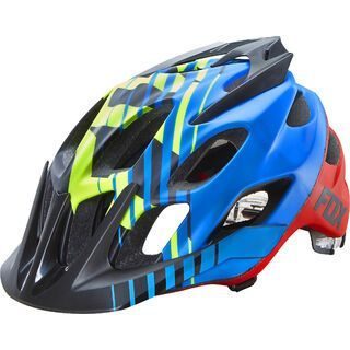 Fox Flux Helmet, savant blue - Fahrradhelm