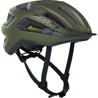 Scott Arx Plus Helmet, green moss/nightfall blue - Fahrradhelm