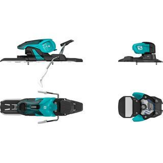 Salomon Warden 11 100 mm, turquoise/black - Skibindung