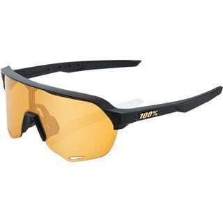 100% S2 Flash Gold Mir matte black