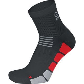 Gore Bike Wear Speed Socken mittellang, black/red