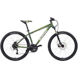 Kona Fire Mountain 26 2015, matt olive/white - Mountainbike