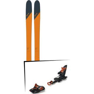 Set: DPS Skis Wailer 99 Tour1 2018 + Marker Kingpin 10 black/copper
