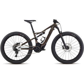 Specialized Woman's Turbo Levo FSR Short Travel 6Fattie 2017, black/wht silver - E-Bike