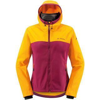 Vaude Womens Takesi Softshell Jacket, bordeaux - Radjacke