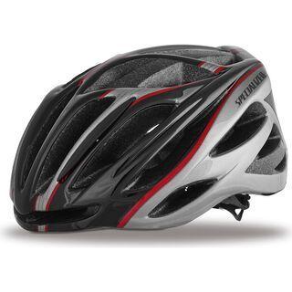 Specialized Echelon II, Black/Red/Silver - Fahrradhelm