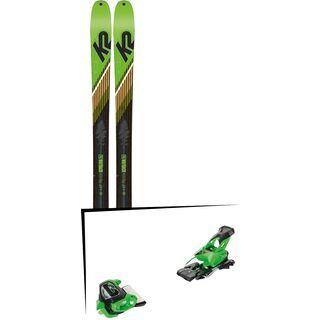 Set: K2 SKI Wayback 88 2019 + Tyrolia Attack² 13 GW green
