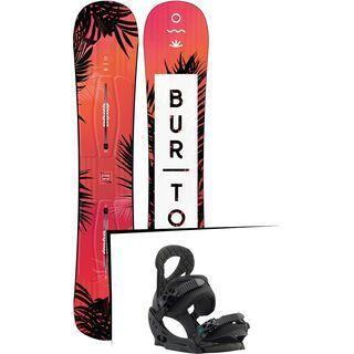 Set: Burton Hideaway 2019 +  Stiletto EST (1931130S)