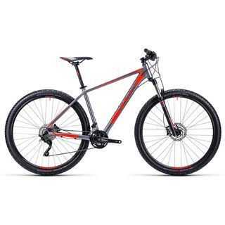 Cube Attention 29 2015, grey/flashred - Mountainbike