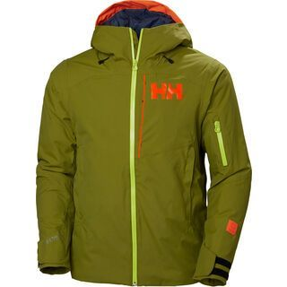 Helly Hansen Powjumper Jacket, wood green - Skijacke