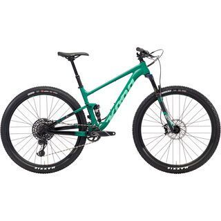 Kona Hei Hei AL/DL 2018, green/black - Mountainbike