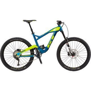 GT Force Carbon Expert 2018, teal/yellow - Mountainbike