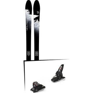 Set: Icelantic Sabre 89 2018 + Marker Jester 16 ID black