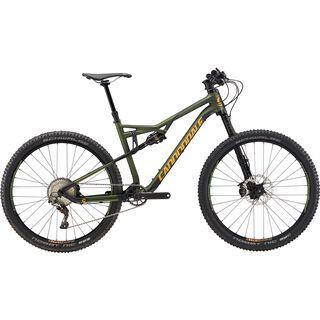 Cannondale Habit Carbon 2 2017, vulvan green/yellow - Mountainbike