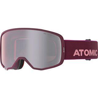 Atomic Revent, nightshade/rose/Lens: silver flash - Skibrille
