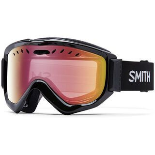 Smith Knowledge OTG, black/red sonsor mirror - Skibrille