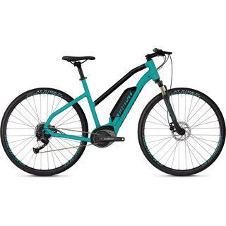 Ghost Hybride Square Cross B1.8 W AL 2019, blue/black - E-Bike