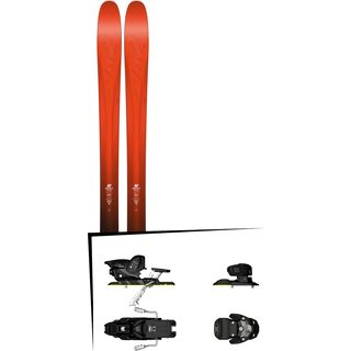 K2 SKI Set: Pinnacle 105 2016 + Salomon Warden MNC 13