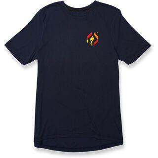 Specialized Drirelease 74 T-Shirt, navy/yellow - Radtrikot