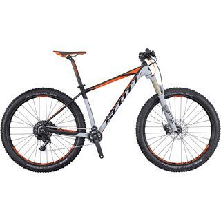 Scott Scale 710 Plus 2016, grey/black/orange - Mountainbike