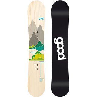 goodboards Prima Camber 2017, ahorn-grün - Snowboard