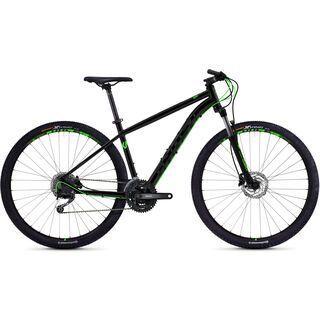 Ghost Kato 4.9 AL 2018, black/neon green - Mountainbike